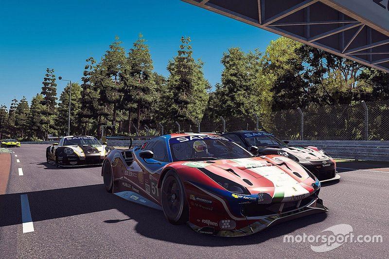 Le Mans: Después de seis horas, Guerrieri pelea por el top 3