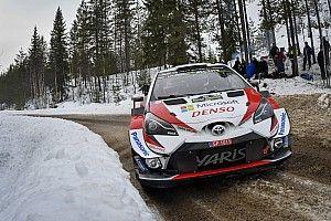 Arriva la neve, Toyota al lavoro con la Yaris WRC in Svezia