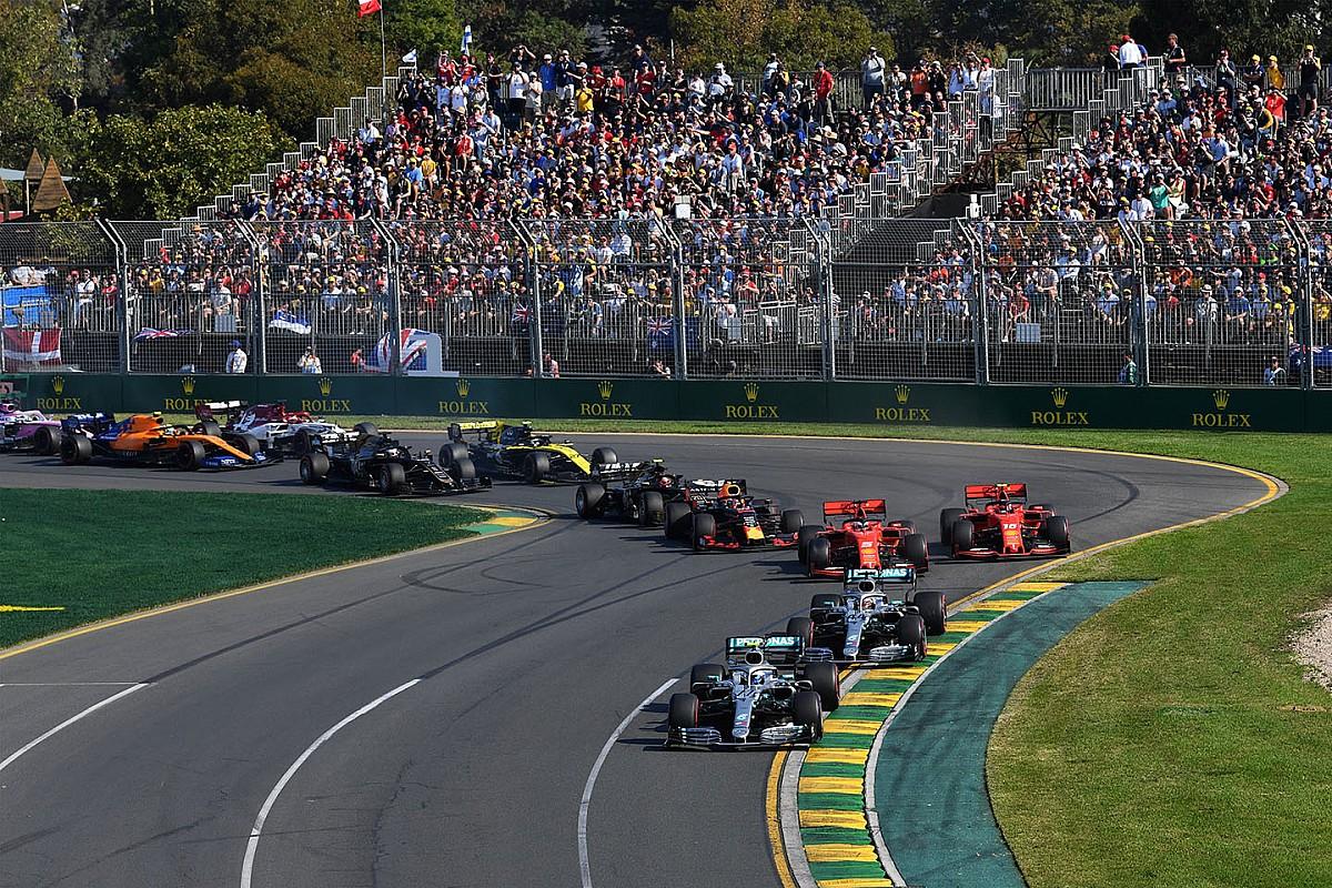 "El GP de Australia de F1 ""sigue adelante"" pese al coronavirus"
