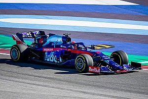 Fotogallery F1: primi giri per la Toro Rosso STR14 a Misano