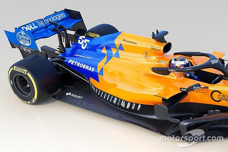 Mantendo base da pintura, McLaren mostra MCL34 na Inglaterra