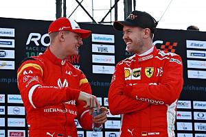 """Filho de Schumi: """"O que meu pai foi para Vettel, Vettel é para mim"""""""