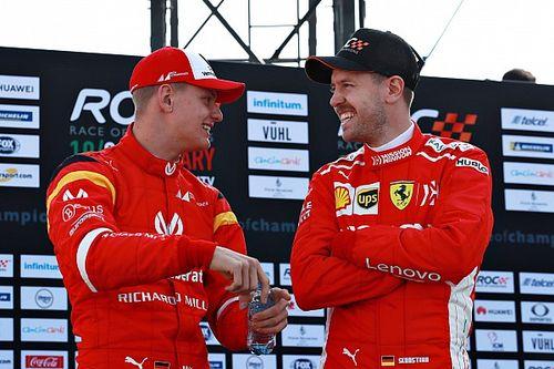 Kalahkan Vettel, Schumacher tak menyangka