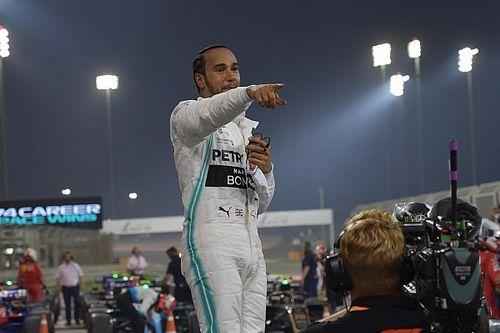 Hamilton nie przyjmował gratulacji
