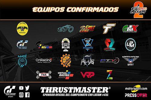 22 equipos de América Latina en la segunda edición del Torneo Evo Latam CEL