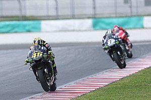 """Rossi: """"Me preocupa qué ocurriría si la carrera fuera mañana"""""""