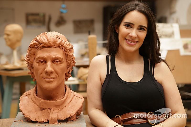 El Papa Francisco recibirá una escultura de Ayrton Senna en el Vaticano