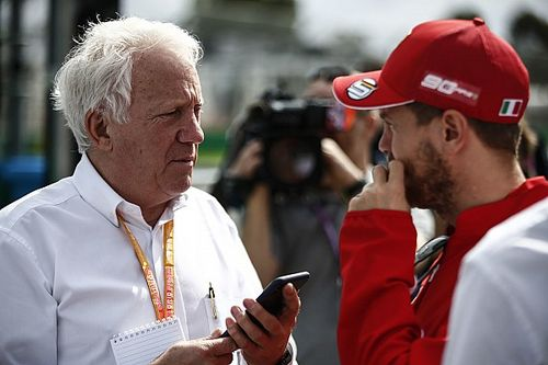 Tributes flood in for Formula 1 race director Charlie Whiting