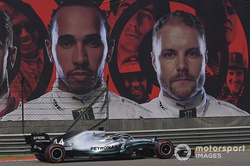 Hamilton est moins à l'aise que Bottas dans la Mercedes