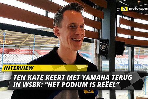 """Ten Kate keert met Yamaha én ambitie terug in WSBK: """"Het podium is reëel"""""""