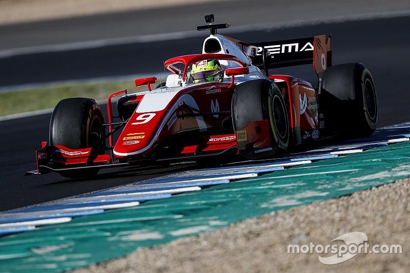 Schumacher faz melhor tempo de teste da F2; Sette Câmara é 13º
