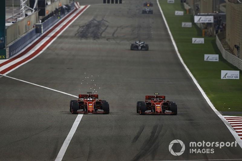 Leclerc: Vettel'i geçme fırsatım vardı ve tereddüt etmedim
