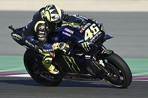 Rossi marca el mejor tiempo de la primera práctica en Qatar