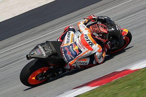 Test MotoGP Sepang, Giorno 1: Marquez e la Honda fanno subito paura, Rossi sesto e Dovi ottavo