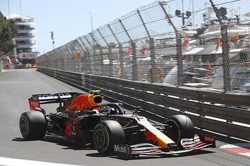 """F1モナコFP1:レッドブルのペレスが首位、ホンダ勢はトップ4に3台。""""モナコ初体験""""の角田裕毅は9番手発進"""