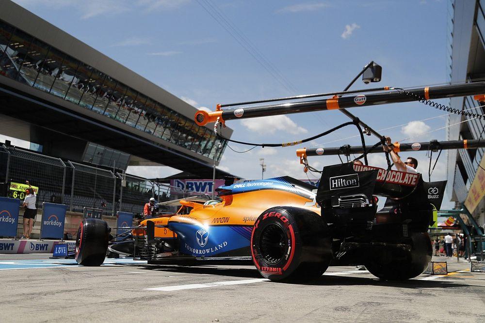 Ricciardo potrenuje w domu
