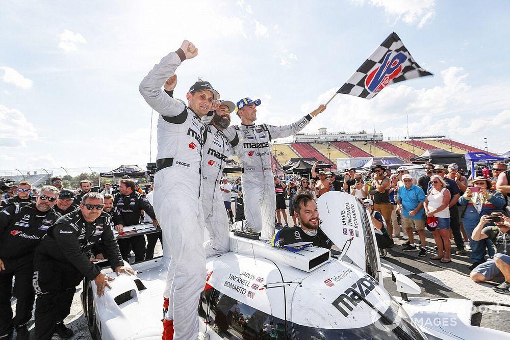 IMSA Watkins Glen: Mazda carves through DPi pack for first win of 2021