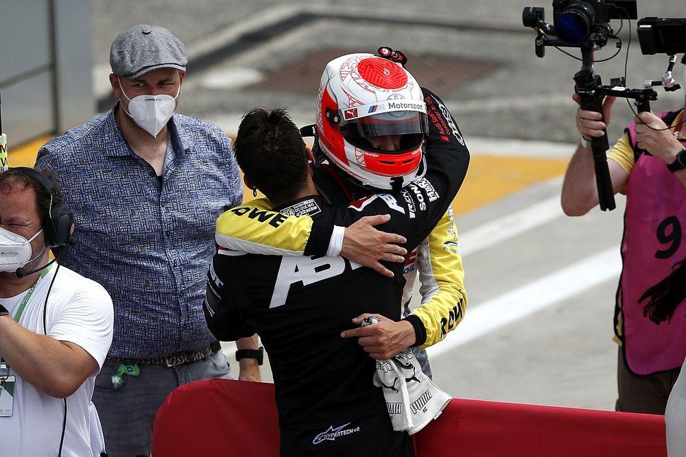 Van der Linde glad to match brother with DTM Monza win