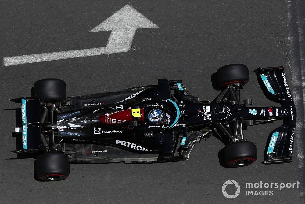 "Mercedes souffre d'un problème ""fondamental"" selon Bottas"