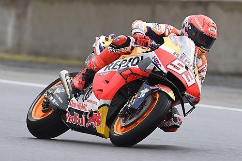 Márquez prefiere lluvia en Le Mans para minimizar los daños