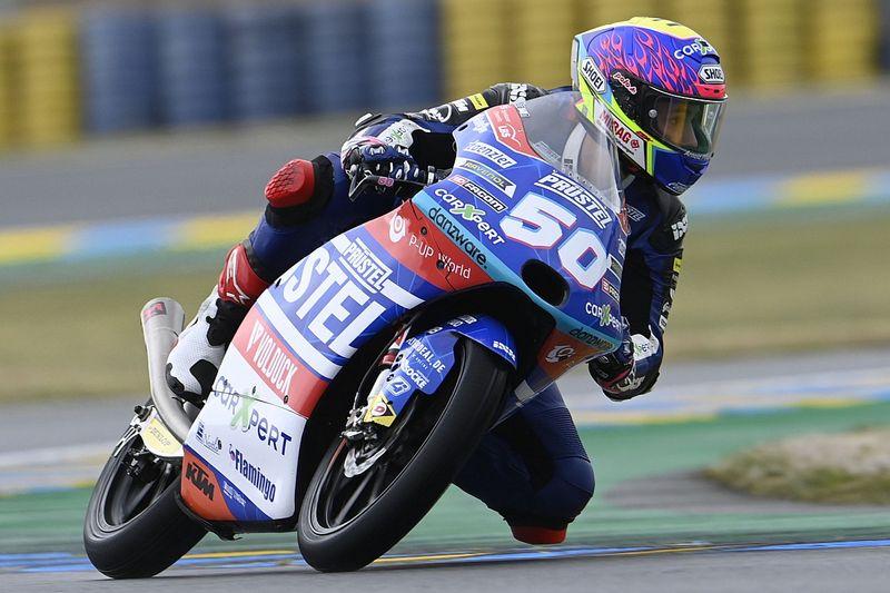 Moto3: il numero 50 di Dupasquier sarà ritirato al Sachsenring