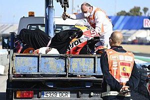 """Marquez: """"Ho avuto problemi di memoria dopo la caduta"""""""