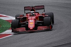 """Leclerc: """"Ferrari bene sul passo gara, meno in qualifica"""""""