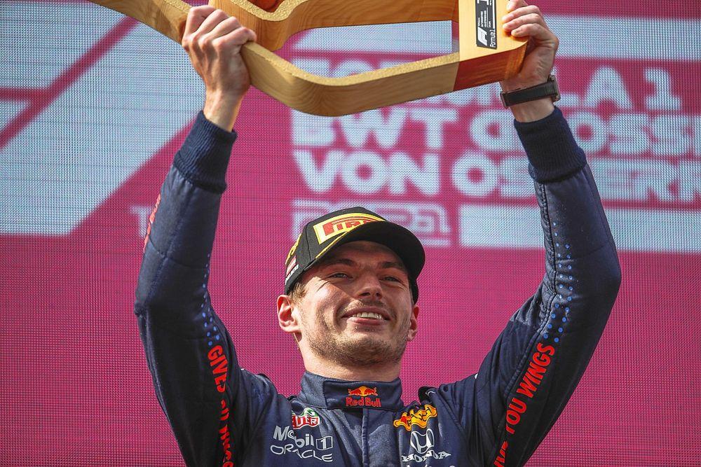 Statistieken F1 GP Oostenrijk - Eerste grand slam voor Verstappen