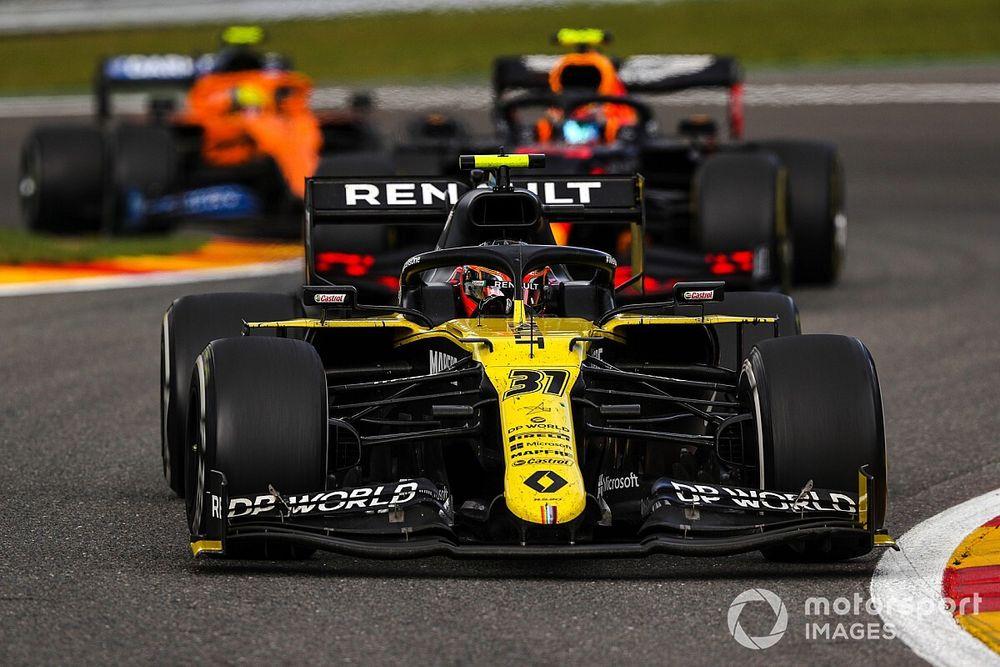 Ocon croit à la troisième place du championnat pour Renault
