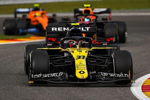 أوكون: رينو بوسعها الآن المنافسة على المركز الثالث في الفورمولا واحد