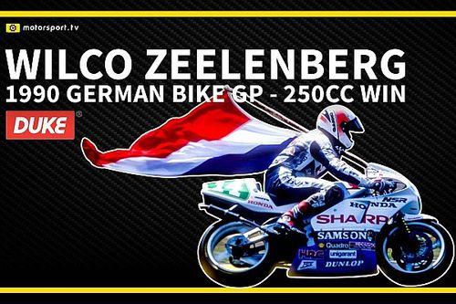 VIDEO: Historische 250cc-zege van Zeelenberg op de Nürburgring