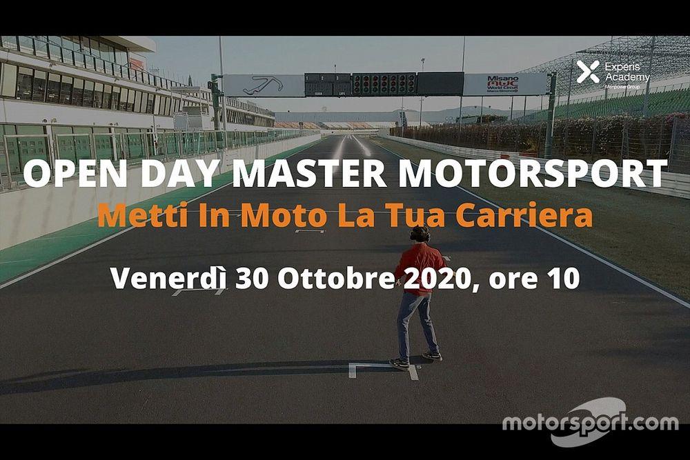 Experis Academy lancia l'Open Day Master Motorsport