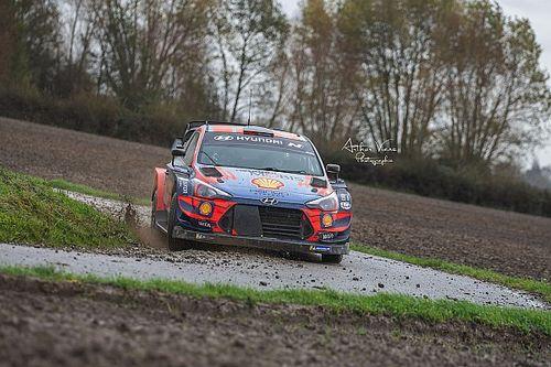 Zmieniona trasa Ypres Rally