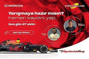 Hayallerinle Yarış Honda e-GP başlıyor