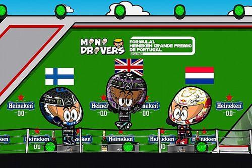 Vídeo: el resumen del regreso de la F1 a Portugal, según MiniDrivers