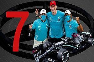 Galería: Mercedes y sus 7 mundiales de Fórmula 1