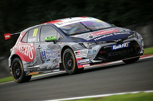 Ingram splits from official Toyota BTCC team