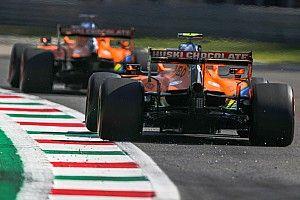 Два McLaren составили компанию Боттасу в первой тройке по итогам субботней тренировки в Монце