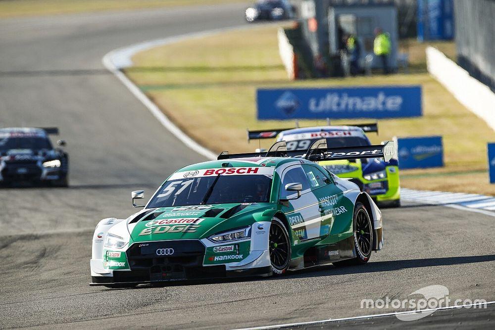 DTM Hockenheim: Müller blijft in titelrace met zege, Rast tweede