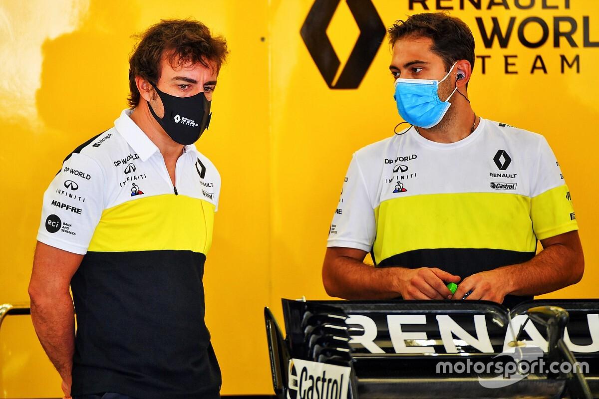 """Alonso brinca com euforia em volta à F1: """"Na Renault já estão começando a se cansar de mim"""""""