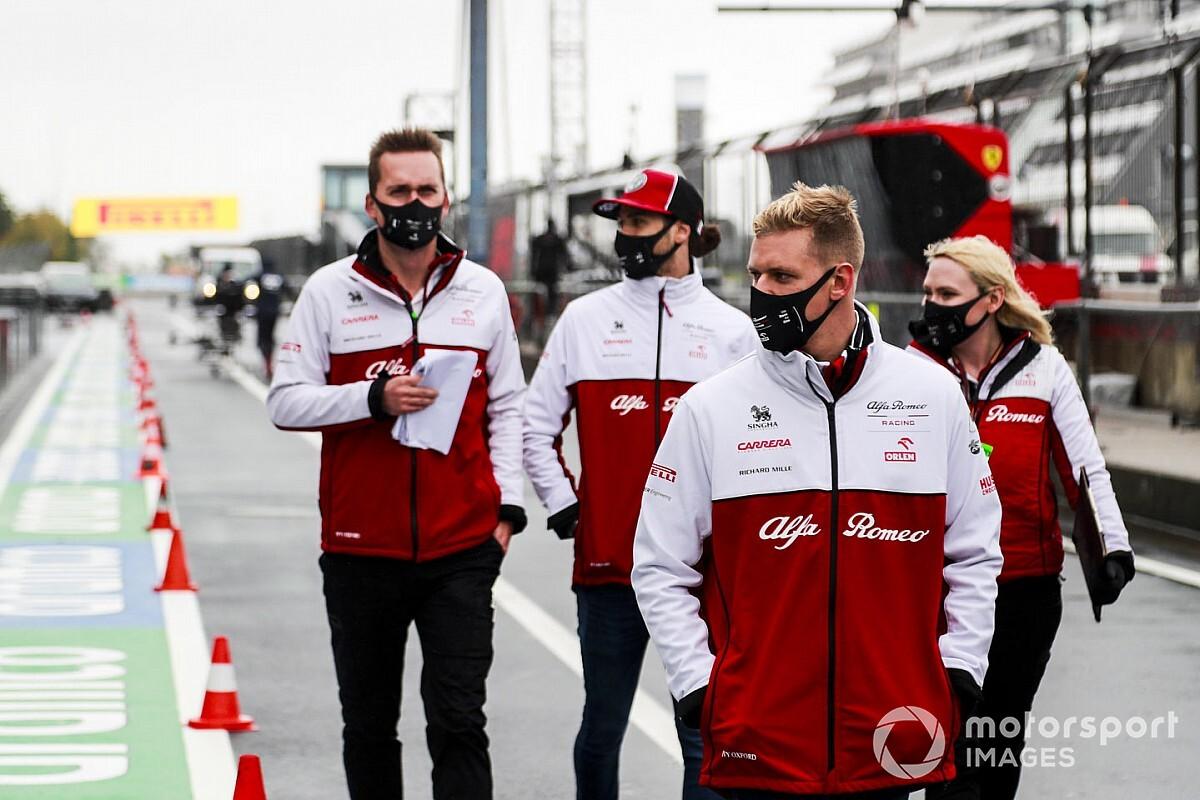 """Alfa: Giovinazzi megtartása Schumacherrel szemben """"nem volt könnyű"""" döntés"""