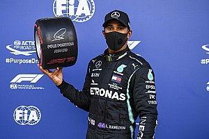 Hamilton: nessun provvedimento, pole salva
