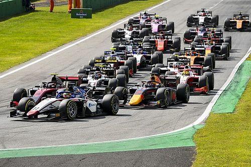 Положение в общем зачете Формулы 2 после этапа в Монце