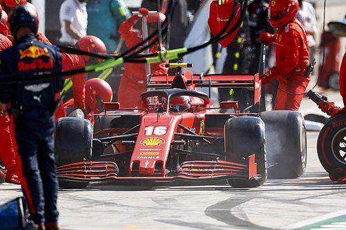 """Leclerc: """"Hata benim, ancak aracı sürmek çok zor"""""""