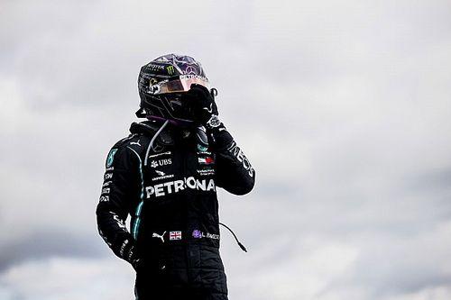 艾菲尔大奖赛:汉密尔顿追平舒马赫91胜纪录,博塔斯因引擎故障退赛