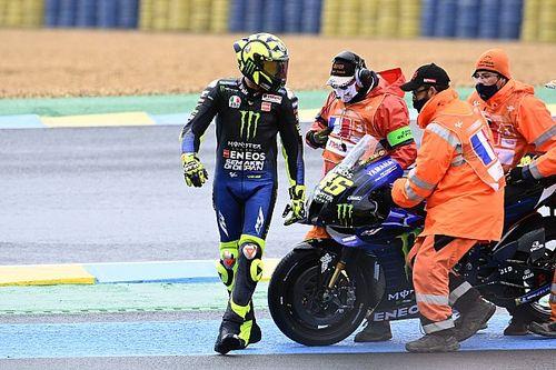 Rossi sorozatban harmadszor bukott