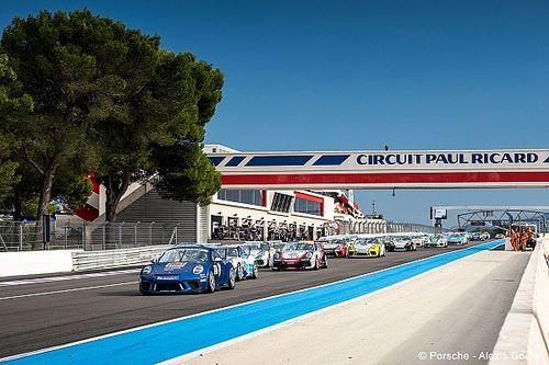 Un calendrier évolué pour la Porsche Carrera Cup France