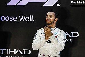 """Mercedes: 2018 terminou com um """"novo"""" Hamilton"""