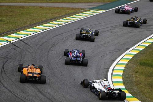 Положение в чемпионате после Гран При Бразилии