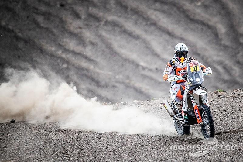 Laia Sanz se cuela en el top 20 del Dakar